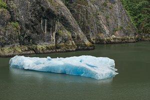 Glacial ice, Alaska