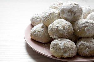 Homemade mexican wedding cookies