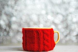 Mug of warming winter drink