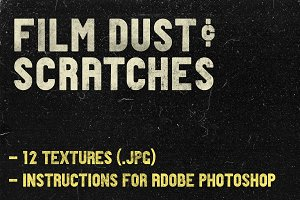 REAL (!) Film Dust Photoshop Texture
