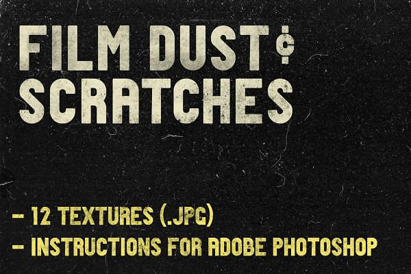 Graphics: Photographers Lounge - REAL (!) Film Dust Photoshop Texture