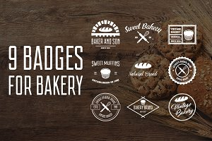 Set of logo for bakery vol. 1