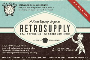 RetroSupply 2 - Photoshop Kit