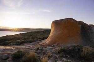 Coastline at sunset- Kangaroo Island