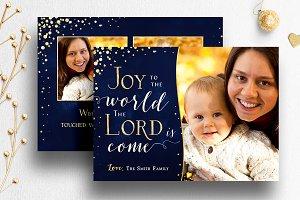 Christmas Card Template PSD | 004