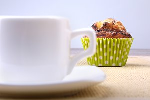 Homemade Chocolate chips muffins