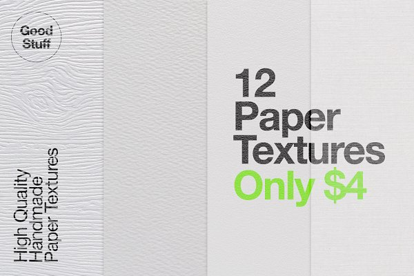 Textures: Good Stuff - Paper Textures Pack