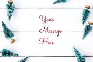 Tree Frame - Holiday Stock Photo