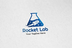 Rocket Lab - Logo Template