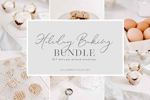 Holiday Baking | Stock Photo Bundle by  in Social Media