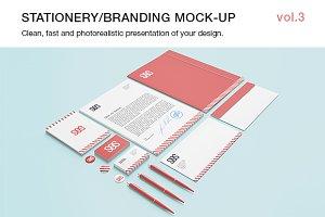 Stationery / Branding Mock-up vol.3