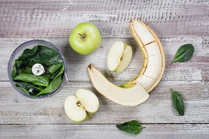 Ingredients for Green smoothie