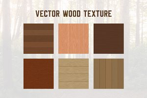 6 Wood Texture Background Pattern