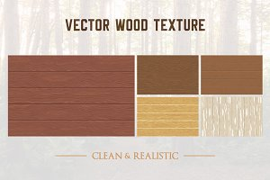 5 Wood Texture Background Pattern