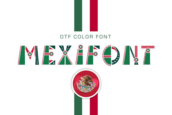 Otf Color Font Mexifont Symbols