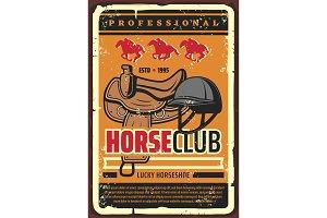 Horserace, horse jockey club