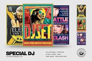Special DJ Flyer Bundle V3