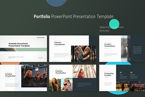 portfolio powerpoint template presentation templates creative
