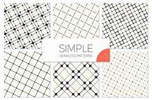 Simple Seamless Patterns. Set 3