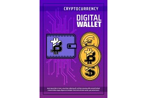 Bitcoin cryptocurrency, wallet
