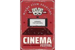 Cinema movie festival, theater