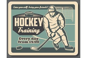 Ice hockey training and sport club
