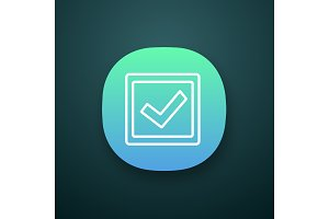Checkbox app icon