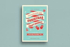 Christmas Craft Market Flyer