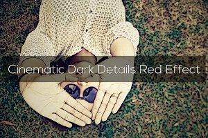 Cinematic Dark Details Red Effect