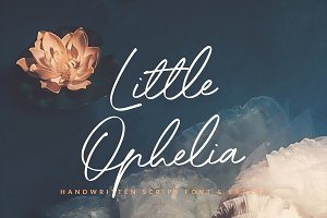 Little Ophelia Handwritten Font