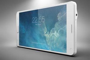 Samsung Galaxy Note 4 Mock Up