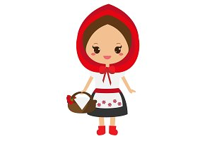 Cute Red Riding Hood