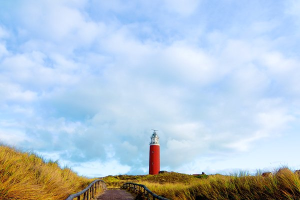 Architecture Stock Photos - Texel Lighthouse Netherlands