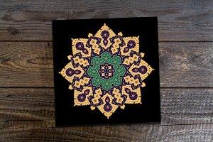 Islamic Floral Ornament