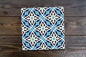 Islamic Floral Seamless Pattern