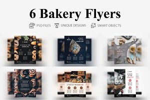 6 Bakery Flyers