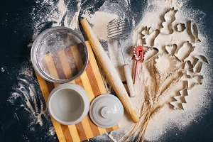 The concept of baking at home