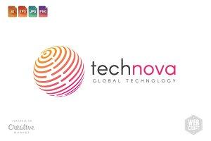 Tech Nova Logo Template