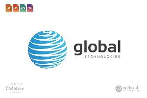 Global Technologies Logo Template 2