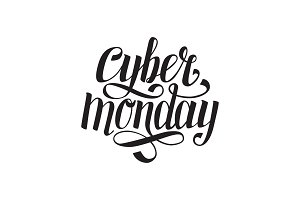 Cyber Monday text for cards or