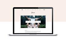 Zaria - WordPress Theme