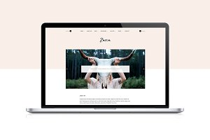 Zaria - WordPress Theme