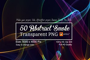 50 Abstract Smoke Transparent PNG