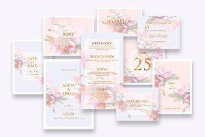 Elegant Wedding Invitation Ac.15