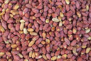 Salted Roasted Peanuts With Red Peel