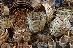 Woven Wicker Baskets