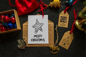 Christmas tags and cards