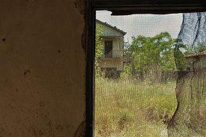 Threaded Window Abandoned House