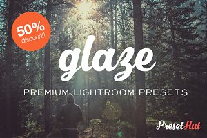 50% off Glaze Lightroom Presets