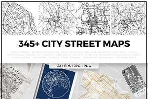 Complete City Street Map Bundle